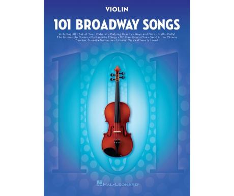 101 Broadway Songs (Violin)