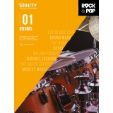 Trinity College London Press Drums Grade 01 (with Free Downloads)