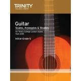 Trinity College London Press Guitar Scales, Arpeggios & Studies Initial–Grade 5