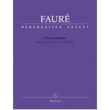 Fauré: 5 Impromptus