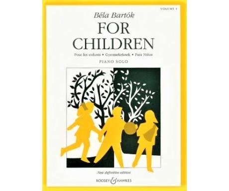 Béla Bartók For Children Volume 1