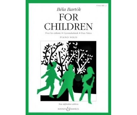 Béla Bartók For Children Volume 2