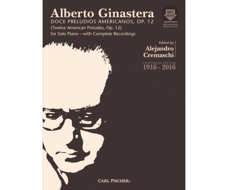 Alberto Ginastera: Doce Preludios Americanos, Op. 12 (with Audio)
