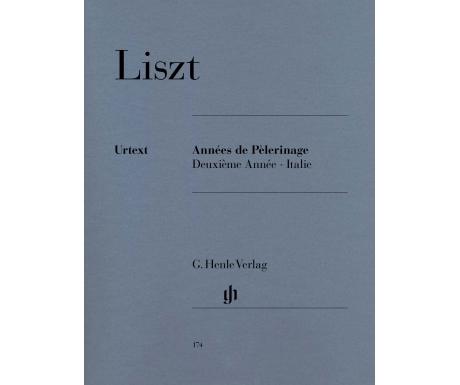 Liszt: Années de Pèlerinage Deuxième Année ∙ Italie
