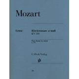 Mozart: Klaviersonate a-moll KV 310