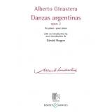 Alberto Ginastera: Danzas Argentinas Opus 2