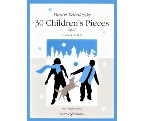 Dmitri Kabalevsky: 30 Children's Pieces Op. 27