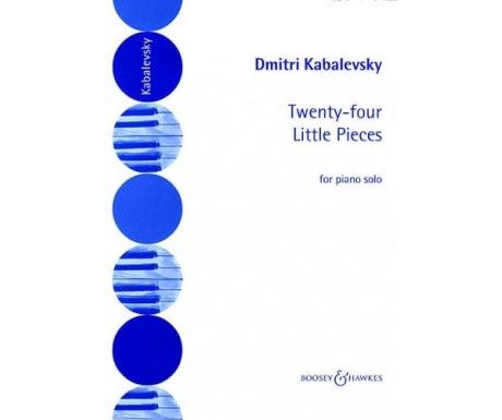 Dmitri Kabalevsky: Twenty-four Little Pieces