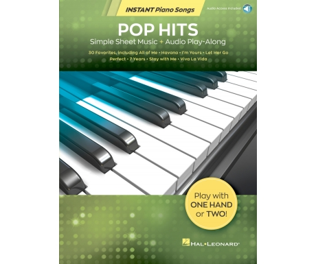 Pop Hits - Instant Piano Songs (with Audio Access)