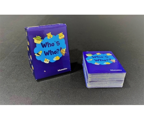 Who's Who? Play Cards