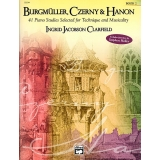 Burgmüller, Czerny & Hanon Book 2 - 41 Piano Studies Selected for Technique and Musicality