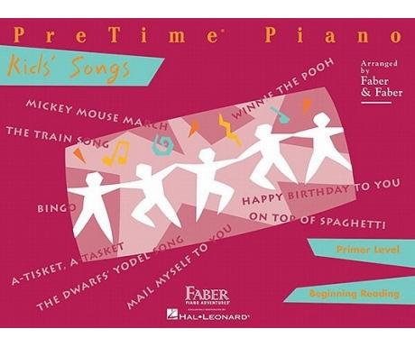 PreTime Piano Kids' Songs Primer Level