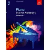 Piano Scales & Arpeggios ABRSM Grade 3