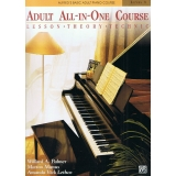 Alfred's Basic Adult All-in-One Piano Course Level 1 (Lesson ∙ Theory ∙ Technic)