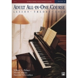 Alfred's Basic Adult All-in-One Piano Course Level 2 (Lesson ∙ Theory ∙ Solo)