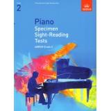Piano Specimen Sight-Reading Tests ABRSM Grade 2