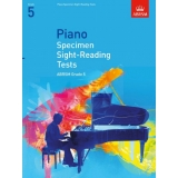 Piano Specimen Sight-Reading Tests ABRSM Grade 5