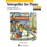 Hal Leonard Student Piano Library Notespeller for Piano Book 3 and Book 4 Exercises