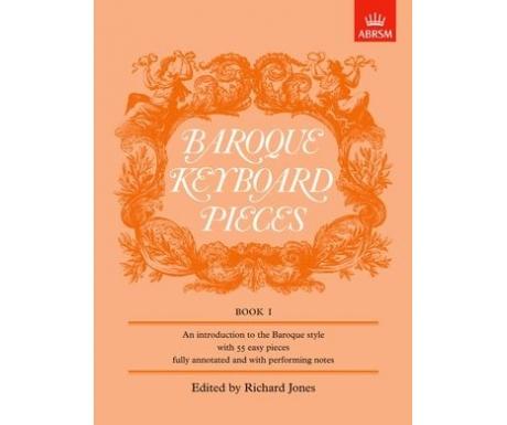 Baroque Keyboard Pieces Book I