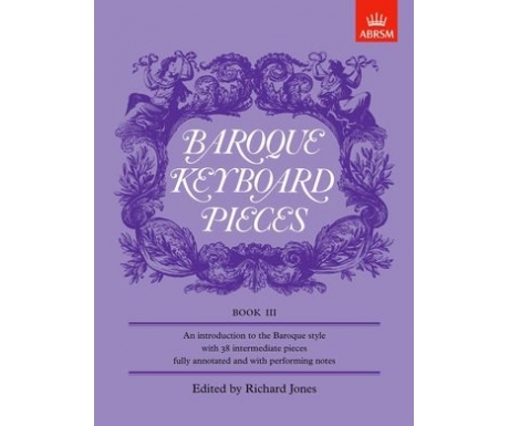 Baroque Keyboard Pieces Book III