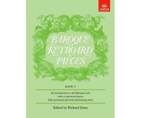 Baroque Keyboard Pieces Book V