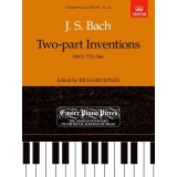 J. S. Bach: Two-part Inventions BWV 772-786 (Easier Piano Pieces No. 33)