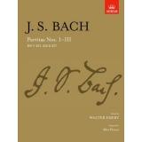 J. S. Bach: Partitas Nos. I-III BWV 825, 826 & 827