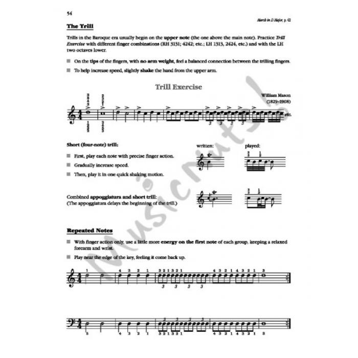 Exploring Piano Classics Level 4 Technique