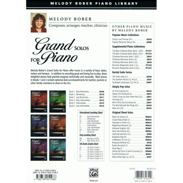 Grand Solos for Piano Book 1 - 10 Pieces for Early