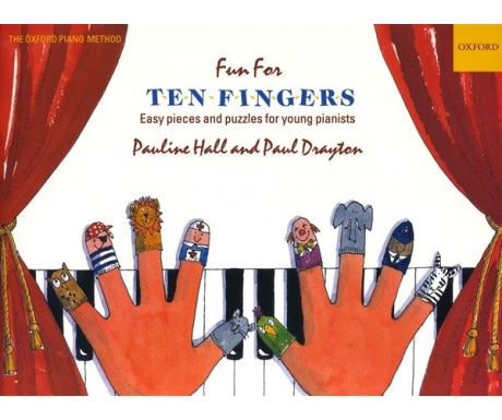 Fun for Ten Fingers - Easy Pieces and Puzzles for Young Pianists