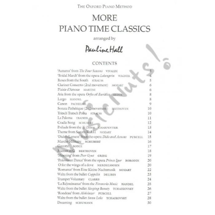 More piano time classics for Piano house classics