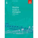 Violin Scales & Arpeggios ABRSM Grade 6
