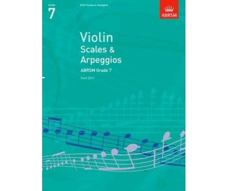 Violin Scales & Arpeggios ABRSM Grade 7