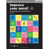 Improve Your Aural! Grades 7-8 (with CDs)