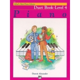 Alfred's Basic Piano Library Duet Book Level 4