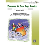 Famous & Fun Pop Duets Book 5 (Intermediate) (UK Exam Grades 3-4)