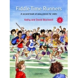 Fiddle Time Runners Violin Book 2: A Second Book of Easy Pieces for Violin (with CD)