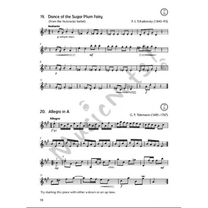 FIDDLE TIME SPRINTERS Violin Accompaniment