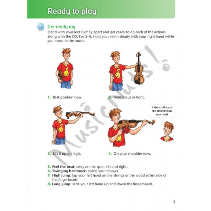 how to play violin for beginners book