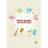 Poco Music Manuscript Book (Magic)