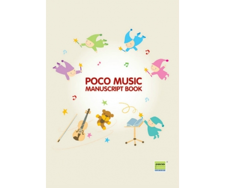 Poco Music Manuscript Book (Magic)