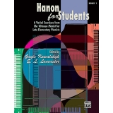 Hanon for Students Book 1 - 6 Varied Exercises from The Virtuoso Pianist for Late Elementary Pianists