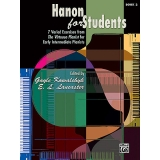Hanon for Students Book 2 - 7 Varied Exercises from The Virtuoso Pianist for Early Intermediate Pianists