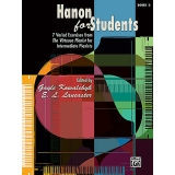 Hanon for Students Book 3 - 7 Varied Exercises from The Virtuoso Pianist for Intermediate Pianists