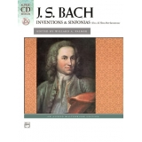 J. S. Bach: Inventions & Sinfonias (Two- & Three-Part Inventions) (with CD)