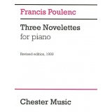 Francis Poulenc: Three Novelettes for Piano (Revised Edition, 1999)