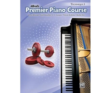 Alfred's Premier Piano Course Technique 3