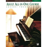 Alfred's Basic Adult All-in-One Piano Course Level 3 (Lesson ∙ Theory ∙ Solo)