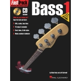 FastTrack Music Instruction Bass 1 (with CD)