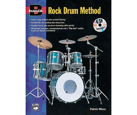 Basix: Rock Drum Method (with CD)